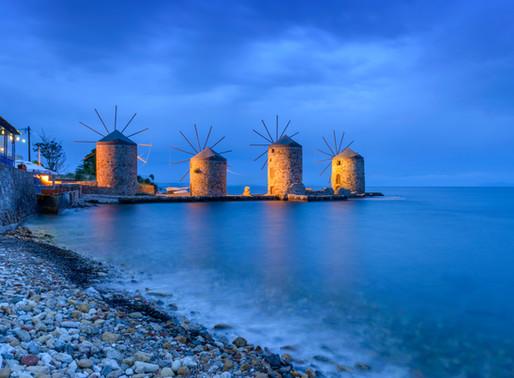 Ancient Windmills | Chios