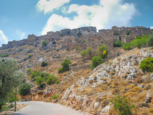 Anavatos Village | Chios | The Climbing Towers