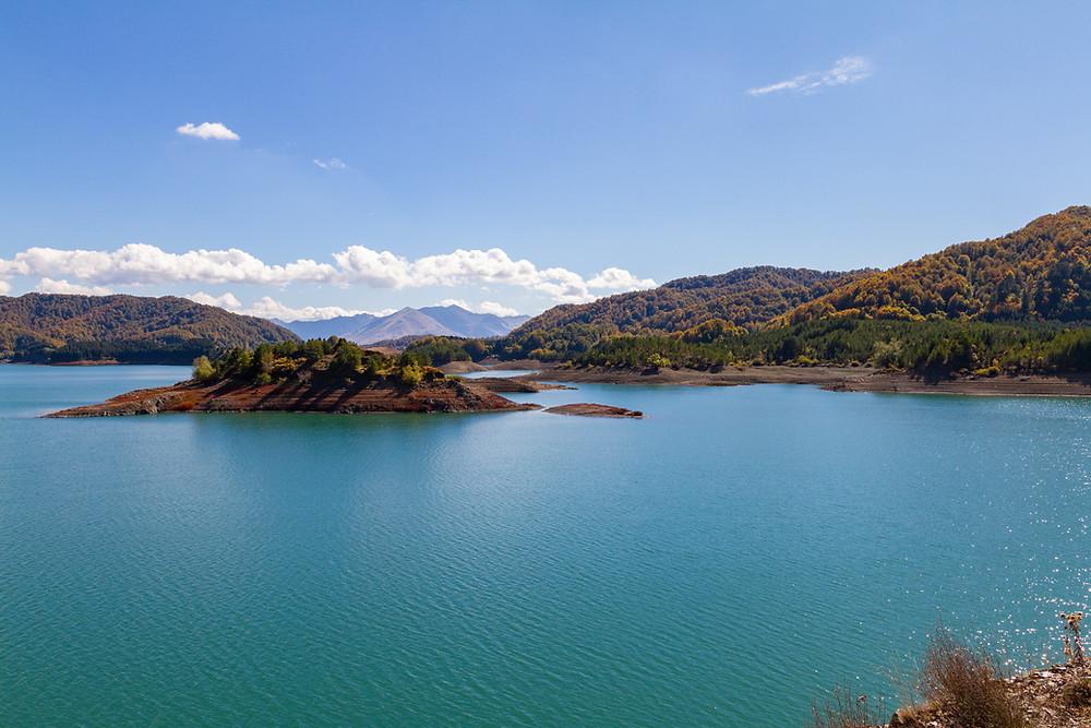 Aoos Lake Greece