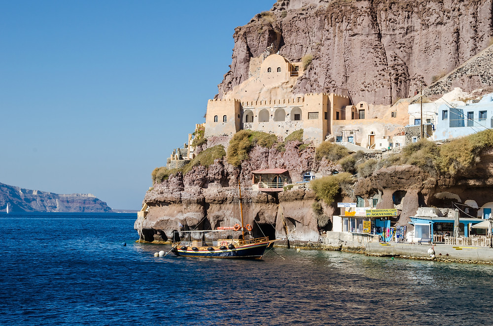 Old Port of Thira | Top Sights in Santorini Greece
