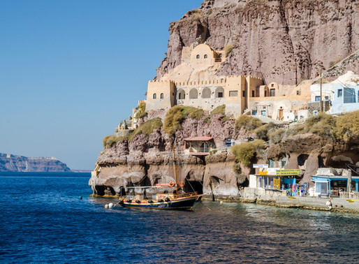 Old Port of Thira | Santorini