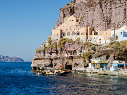 Old Port of Thira | Santorini