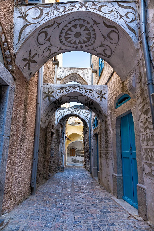 Pyrgi Village | Chios | Top Destinations in Greece