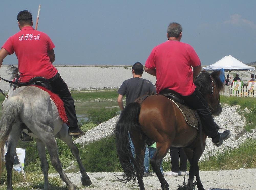 Horse Riding Lake Karla   Copyright: George P. Papadellis
