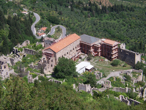 Despot's Palace | Mystras | The Byzantine Beauty