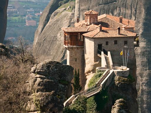 Monastery Agias Varvaras Rousanou | Meteora