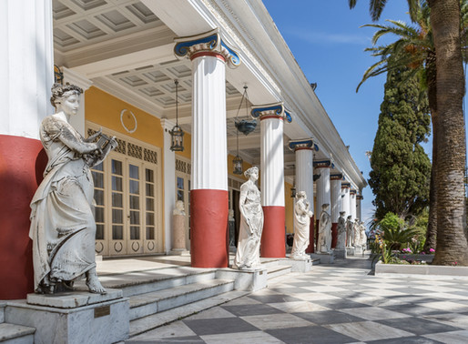 Achillion Palace   Corfu   Home of Kaiserin Sisi