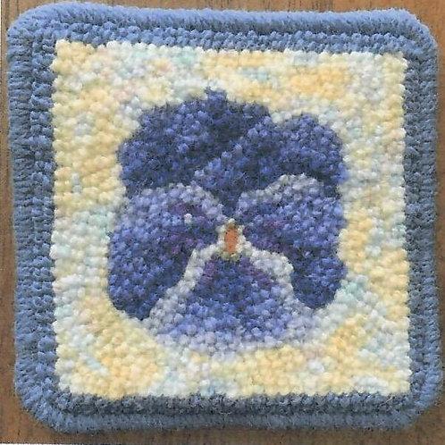 #66 Pattern Pansy Coasters