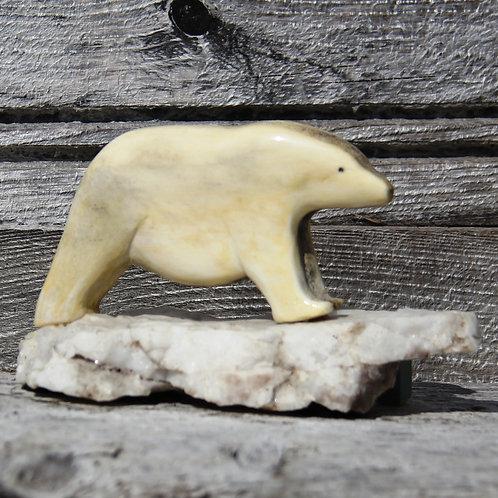 #58 Polar Bear On Ice Flow -33
