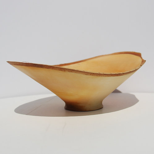 "#27 Natural Edged Birch Bowl - 5"" x 7 1/2"" ( shallow) #4"