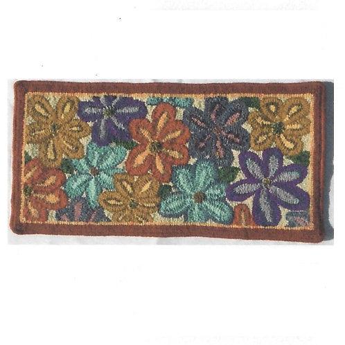 #66 Pattern Flower Mat