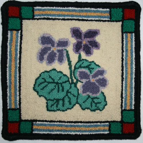 #29 Pattern 10 x 10 Purple Violet