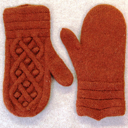 #55 Felted Mitts