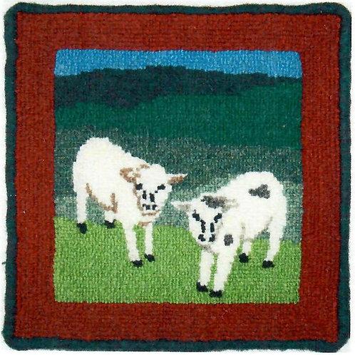 #29 Pattern 10×10 Grandfather Jack's Lambs
