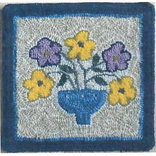 #66 Pattern Vase Of Flowers