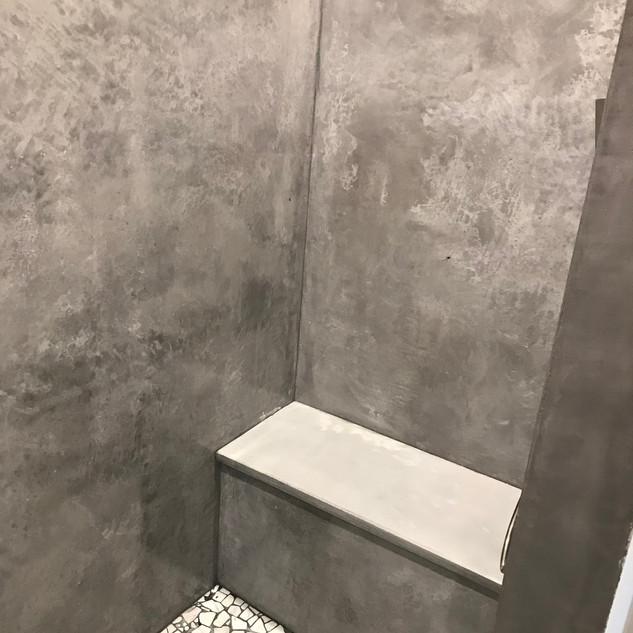 Vertical Concrete - Shower