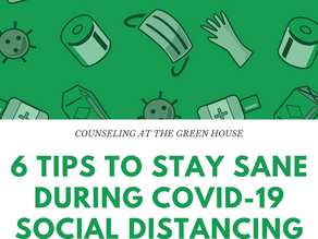 6 Tips to Stay Sane during COVID-19 Social Distancing