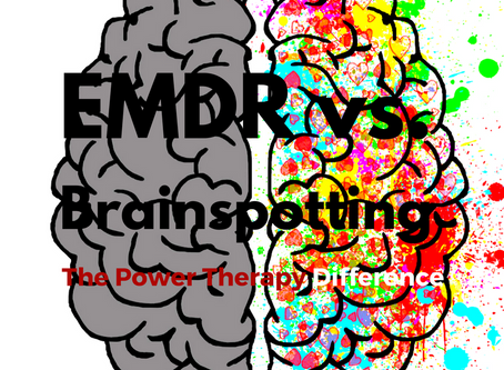 Brainspotting vs. EMDR: A comparison of power therapies