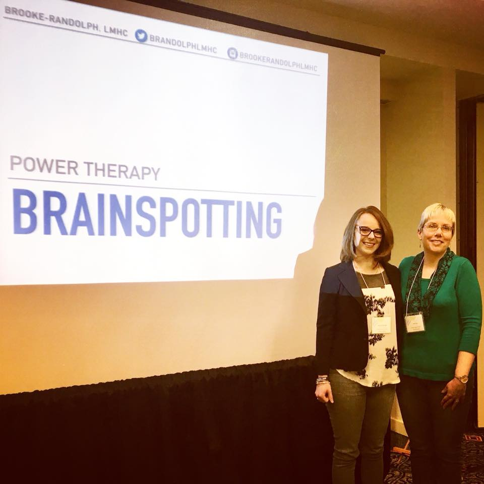 Brainspotting power therapy presentation Brooke Randolph Lisa Floyd