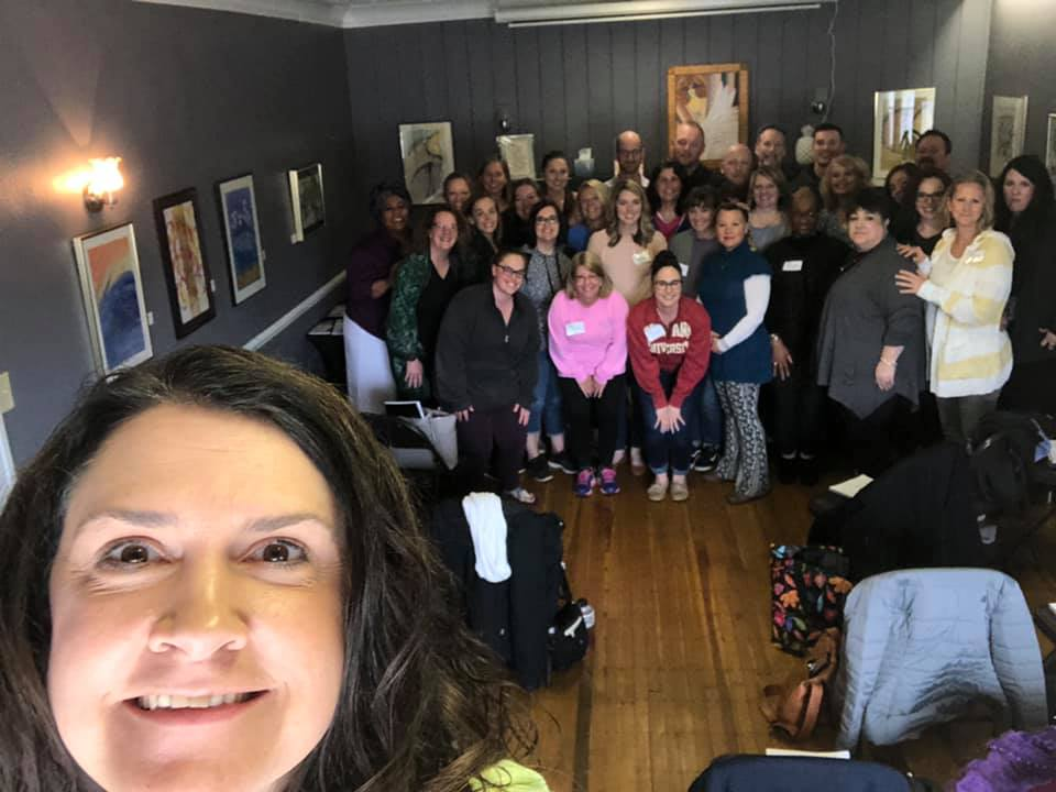 Brainspotting training at The Green House Indianapolis with Cherie Lindberg