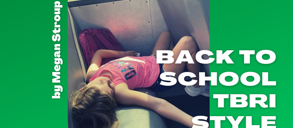 6 Tips for Back to School TBRI Parenting