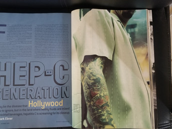 Bad Liver, Broken Heart: The Hollywood Hep-C Story (Details, October 1999)