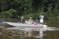 Pescaria no Suriname - Piraíbas