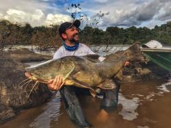 Pescaria no Rio Trombetas