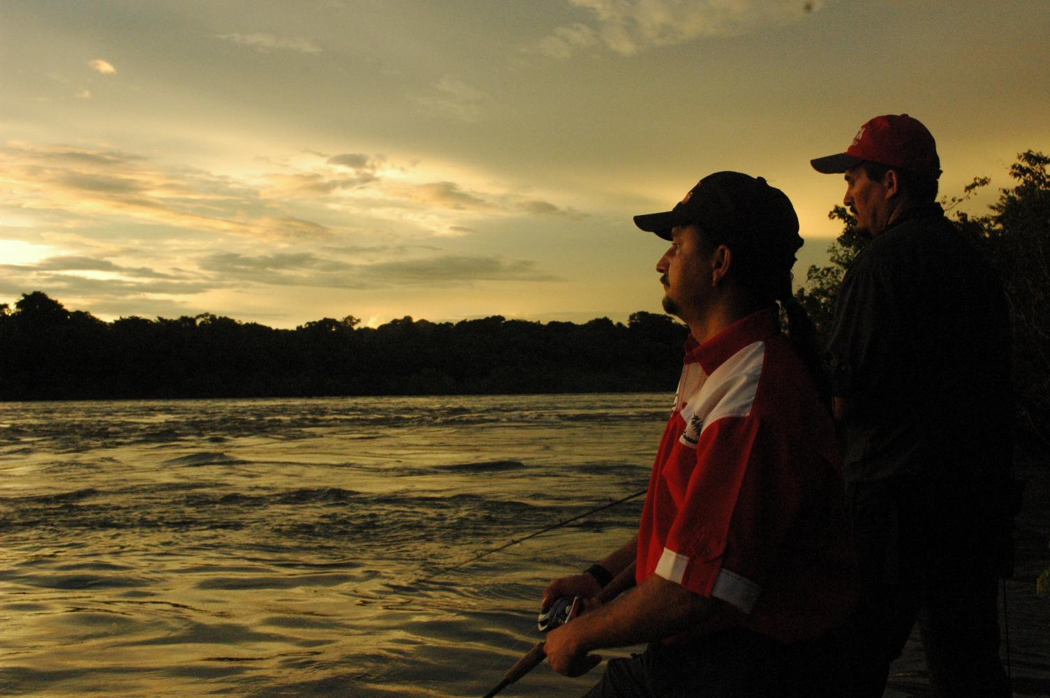 Cenas de Pesca