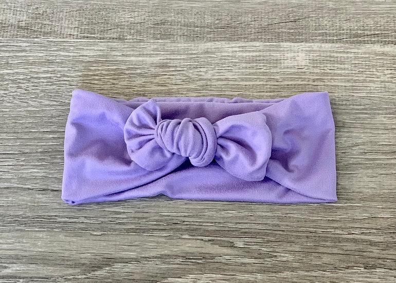 Lavender Baby Headband