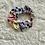 Thumbnail: Multicolor Tie-Dye Scrunchie