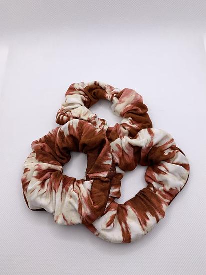 Firewood Tie-Dye Scrunchie