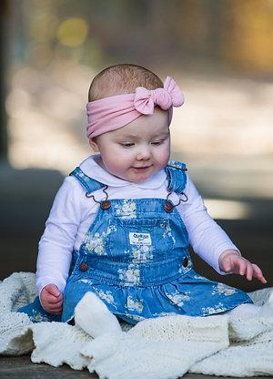 Baby Pink - Baby Headband