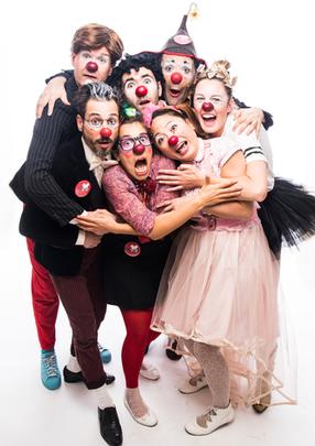 Les clowns professionnels