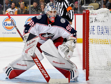 The Jackets have a Goalie problem