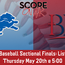 Listen: OHSAA Baseball Sectional Finals Bexley @ Hartley
