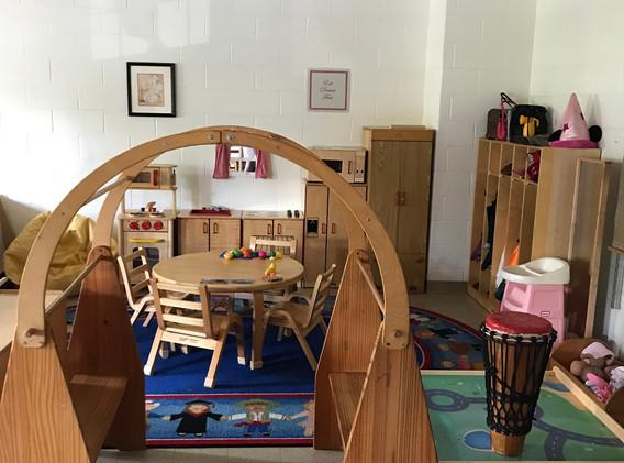 Threes Classroom - Dramatic Play Area