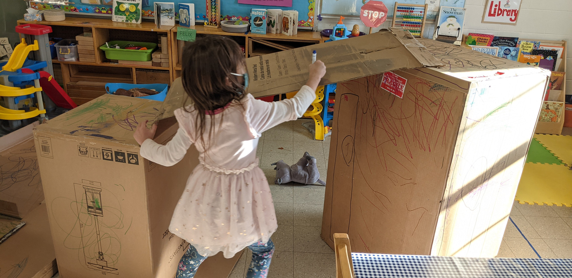 Boxes in the Pre-K