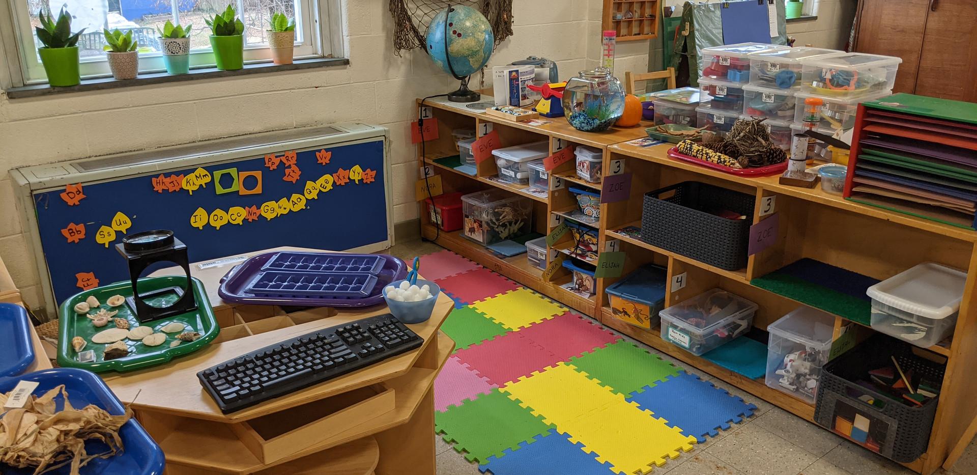 Pre-K Science Center Pod