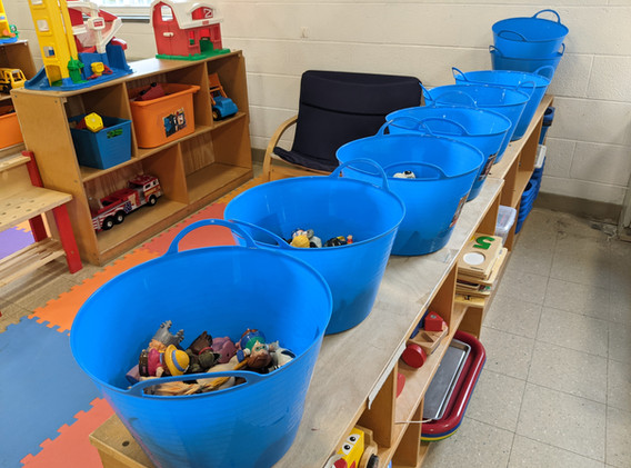Mixed Class Individual Toy Buckets