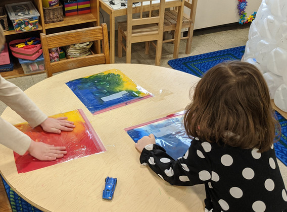 Mixing Colors in the Threes Class