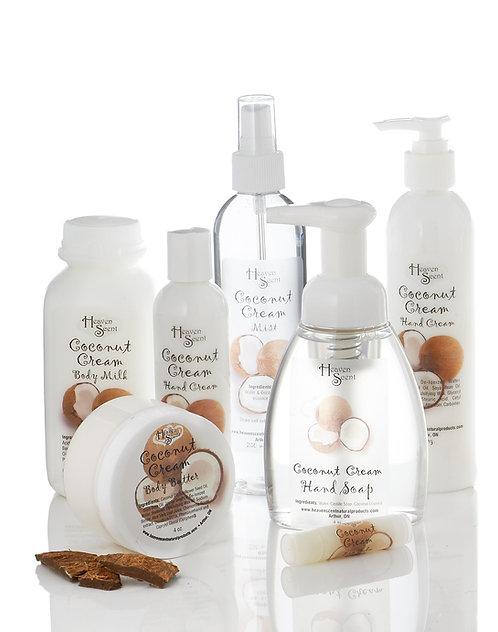Coconut Cream Body Collection