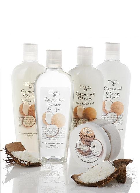 Coconut Cream Bath Collection
