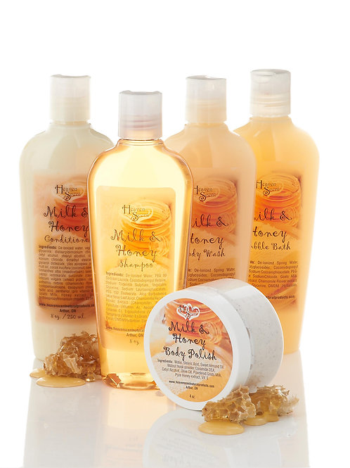 Milk & Honey Bath Collection