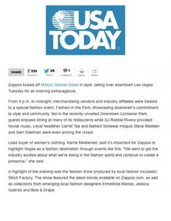 USA Today Spring 2014