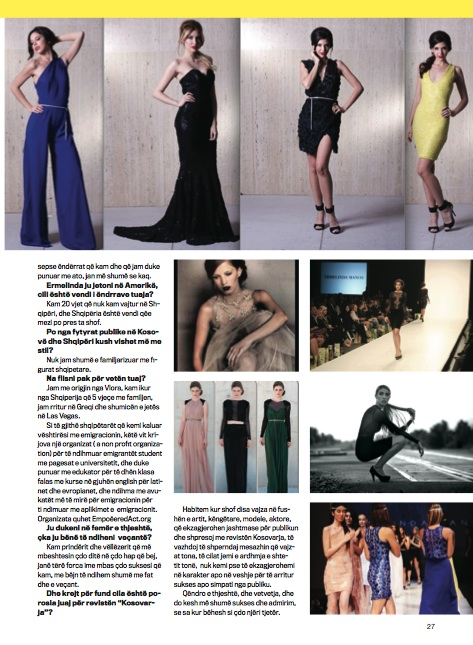 KOSOVA Magazine Spring 2014