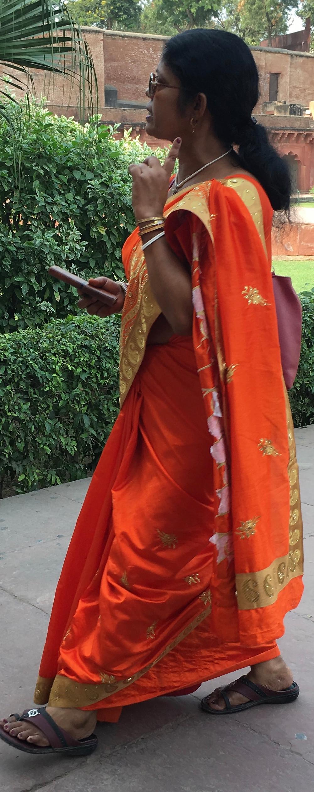 Colorful Sari