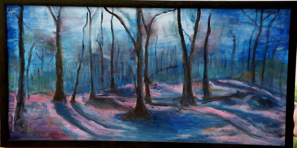 Enchanting Forest, original art work, Dafna Adler
