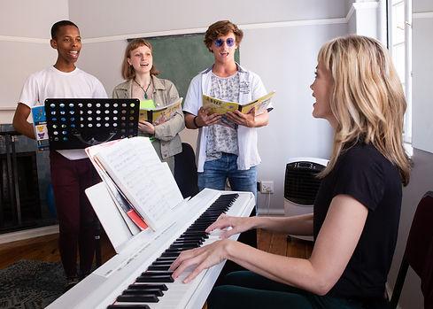 Waterfront Theatre School junior singing