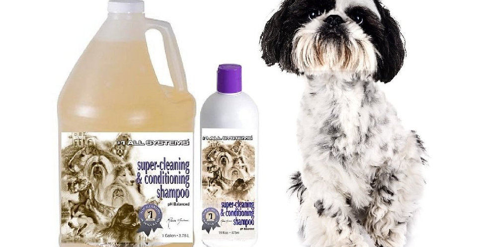 Super Cleaning And Conditioning Shampoo by #1 All Systems